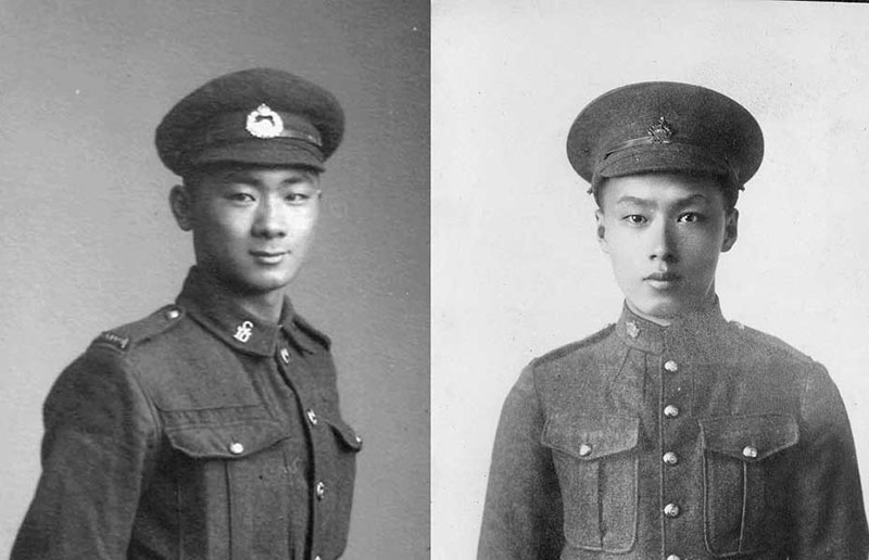 Wee Tan Louie, Wee Hong Louie, Chinese Canadians in WWI