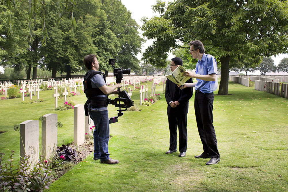Lijssenthoek Military Cemetery, Belgium