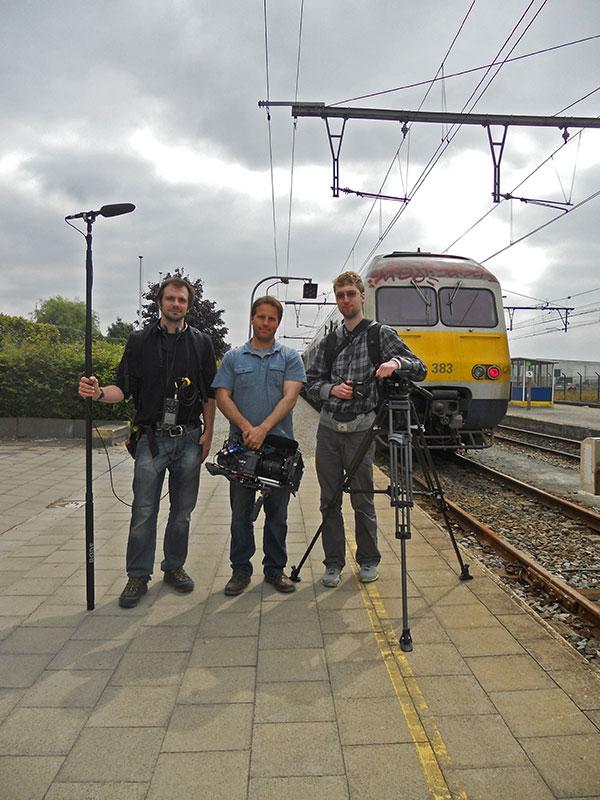 Belgium Crew: Yann Goiran, Jordan Paterson, Dmitri Lennikov