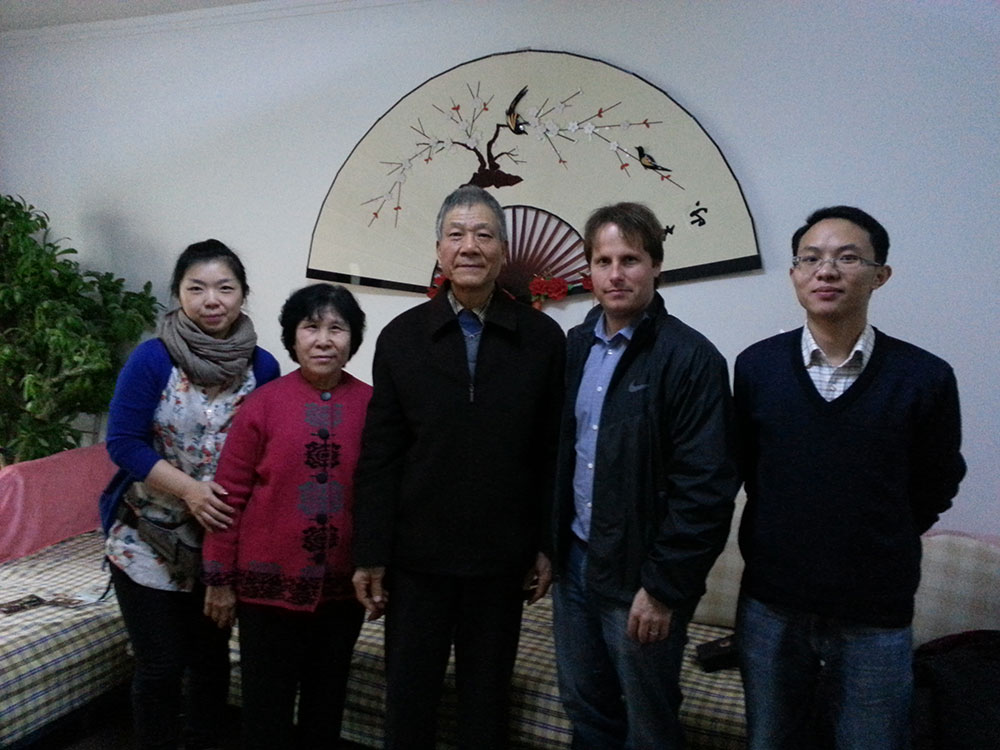 With Sun GuangLong, a CLC descendant