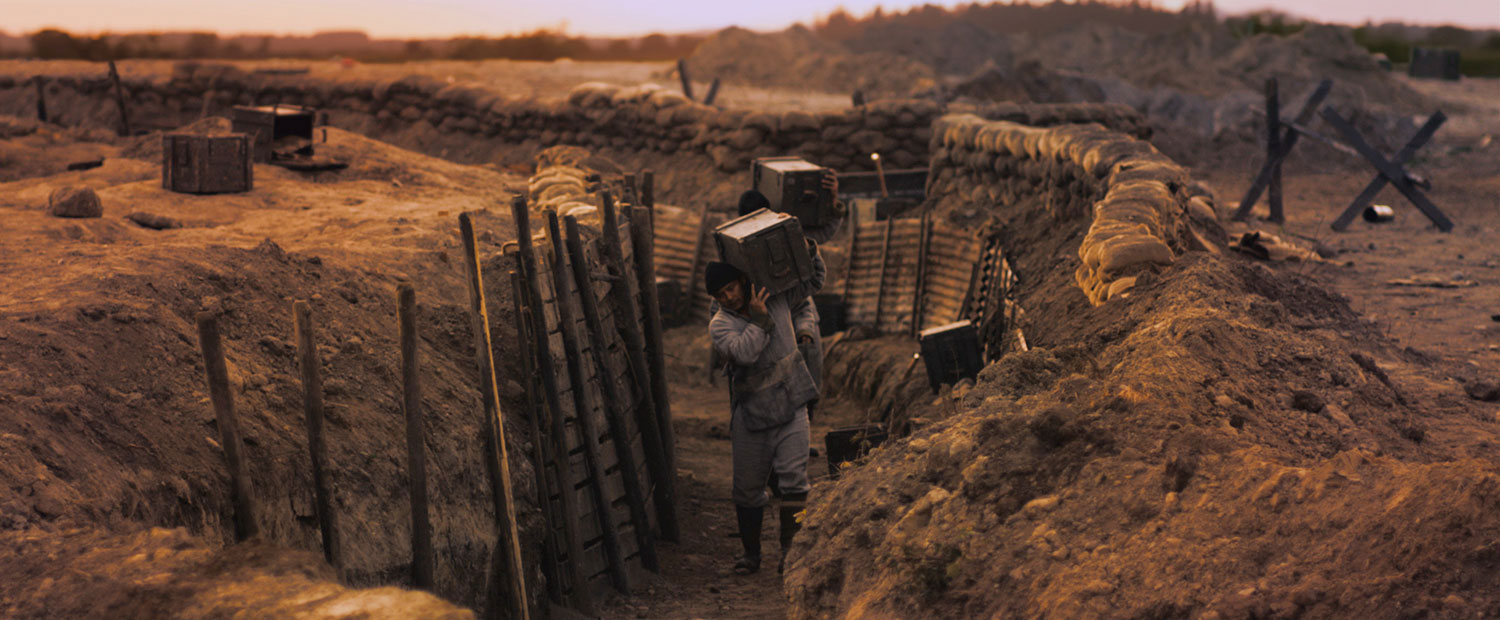 Chinese Labour Corps — WWI Trench